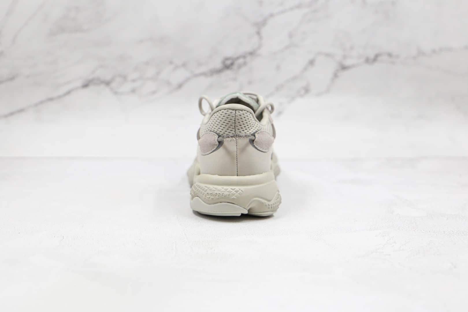 阿迪达斯Adidas OZWEEGO 2021纯原版本网面深灰色水管老爹鞋原楦头纸板打造 货号:GZ2787
