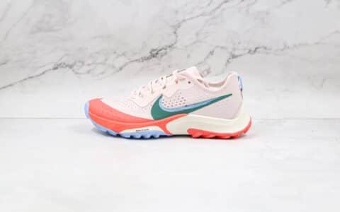耐克Nike Air Zoom Terra Kiger 7纯原版本越野跑鞋7代红色跑步鞋原楦头纸板打造 货号:CW6066-600