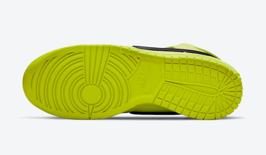 "Ambush x Nike Dunk Hi""荧光绿""官图释出!月底登场! 货号:CU7544-300"