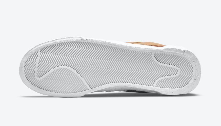 解构撞色!两款全新sacai x Nike Blazer官图释出! 货号:DD1877-002/DD1877-200