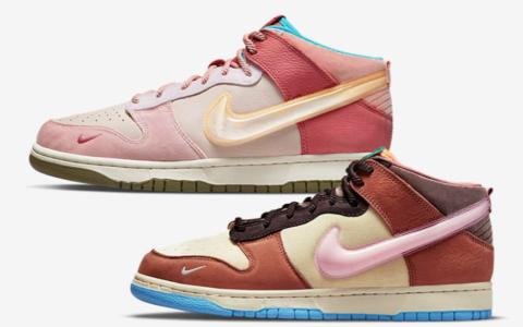 两款全新Social Status x Nike Dunk联名曝光!规格不俗!