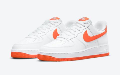 活力白橙配色!全新Nike AF1即将登场! 货号:DC2911-101
