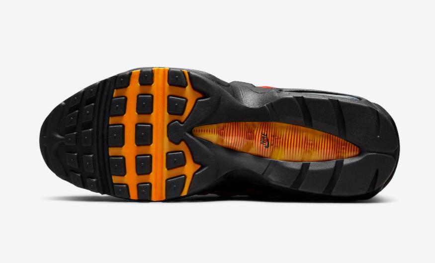 西红柿炒蛋!Nike复古跑鞋Air Max 95新配色即将发售! 货号:DC9412-001