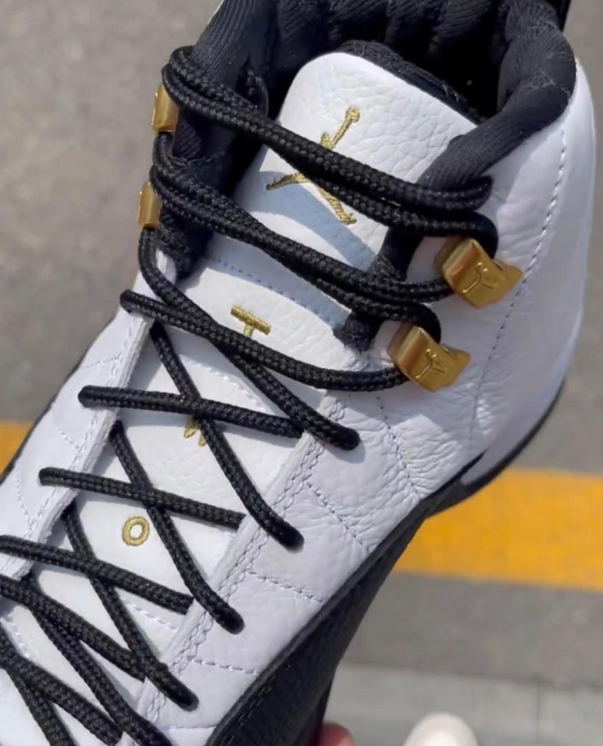 """酷似AJ12金扣!全新Air Jordan 12 """"Royalty""""十月登场! 货号:CT8013-170"""