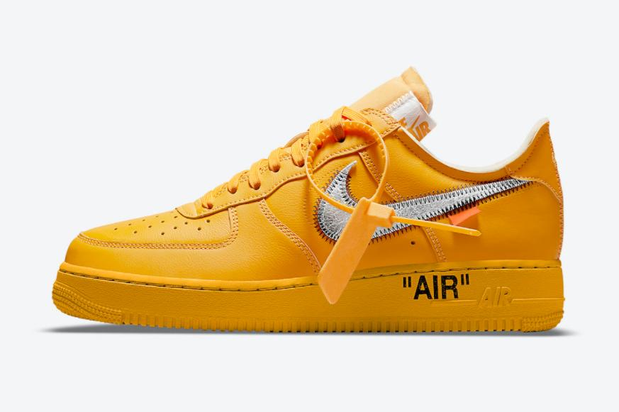 """蓝色AF1""""MCA""""的兄弟款!OW x Nike AF1""""艺术馆联名""""即将登场! 货号:DD1876-700"""