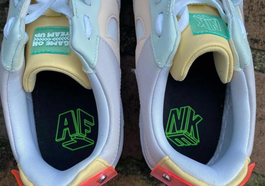 电竞主题!马卡龙解构!全新LPL x Nike AF1 Pixel首度曝光!