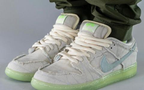 """可撕鞋面+夜光设计!全新Nike SB Dunk""""木乃伊""""十月登场! 货号:DM0774-111"""