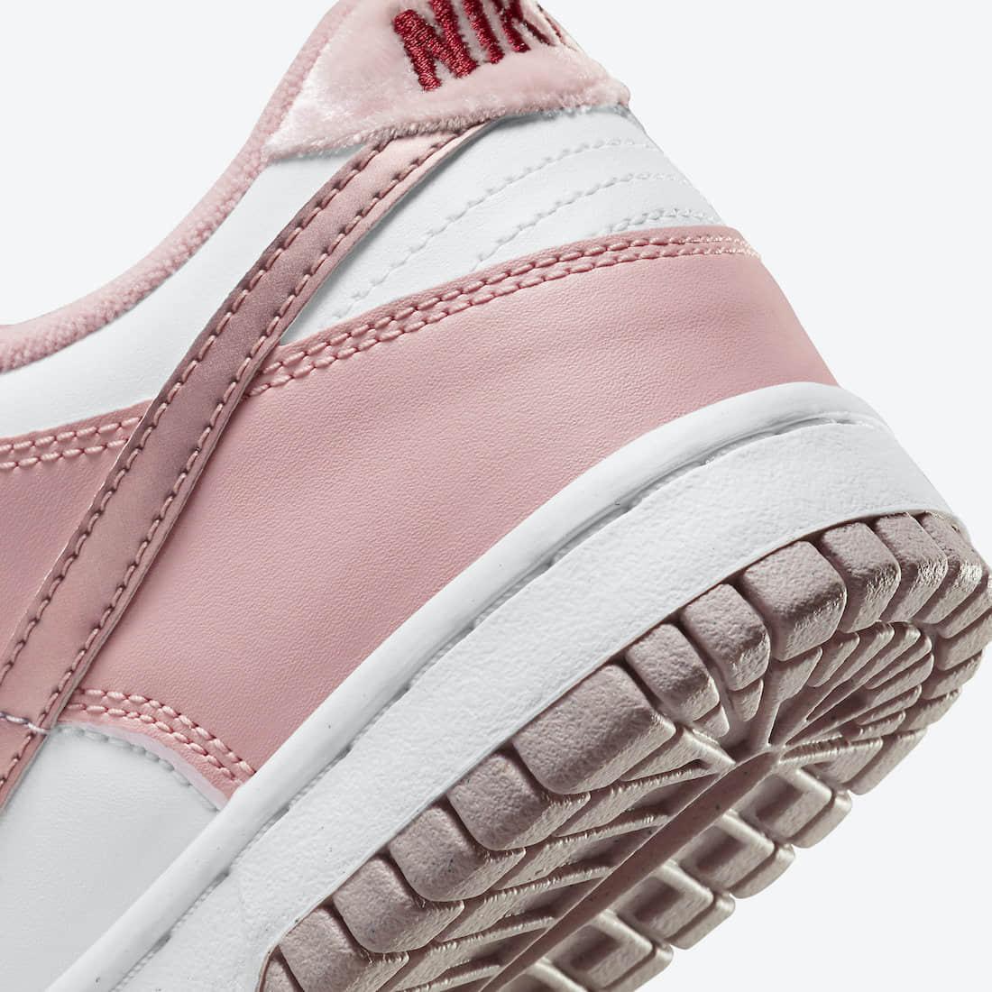 """白粉配色!全新""""小情人节""""Nike Dunk Low官图释出! 货号:DO6485-600"""