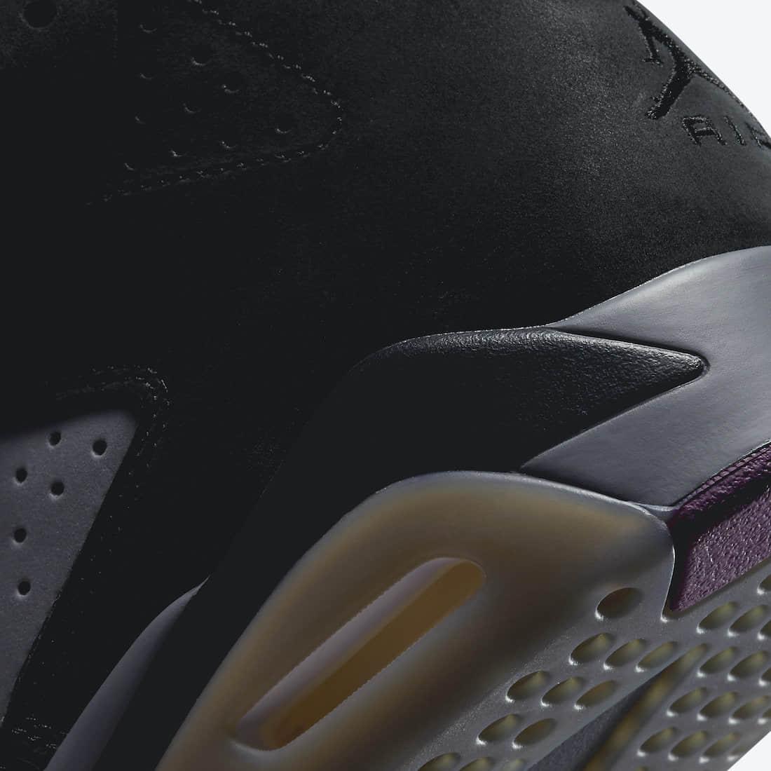 """乔丹首冠战靴AJ6""""波尔多""""配色官图释出!下月登场! 货号:CT8529-063"""