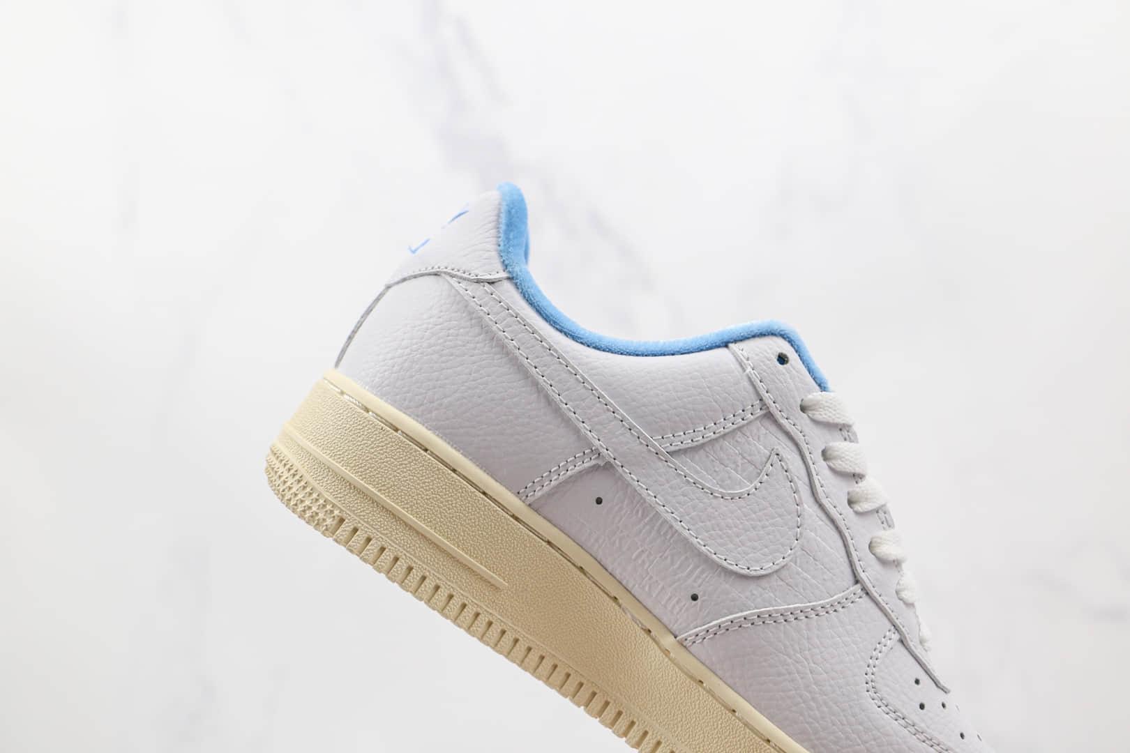 耐克Nike Air Force 1 Low Leopard纯原版本低帮空军一号白蓝色夏威夷限定板鞋内置气垫 货号:DC9555-100