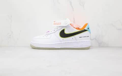 耐克Nike Air Force 1 Low Have A Good Game纯原版本低帮空军一号白黑色游戏鬼脸板鞋内置气垫 货号:DO2333-101