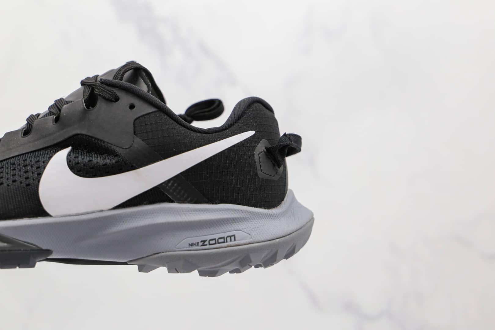耐克Nike Air Zoom Terra Kiger 6纯原版本征服荒野系列飞马6代黑白色慢跑鞋原盒原标 货号:CJ0219-001