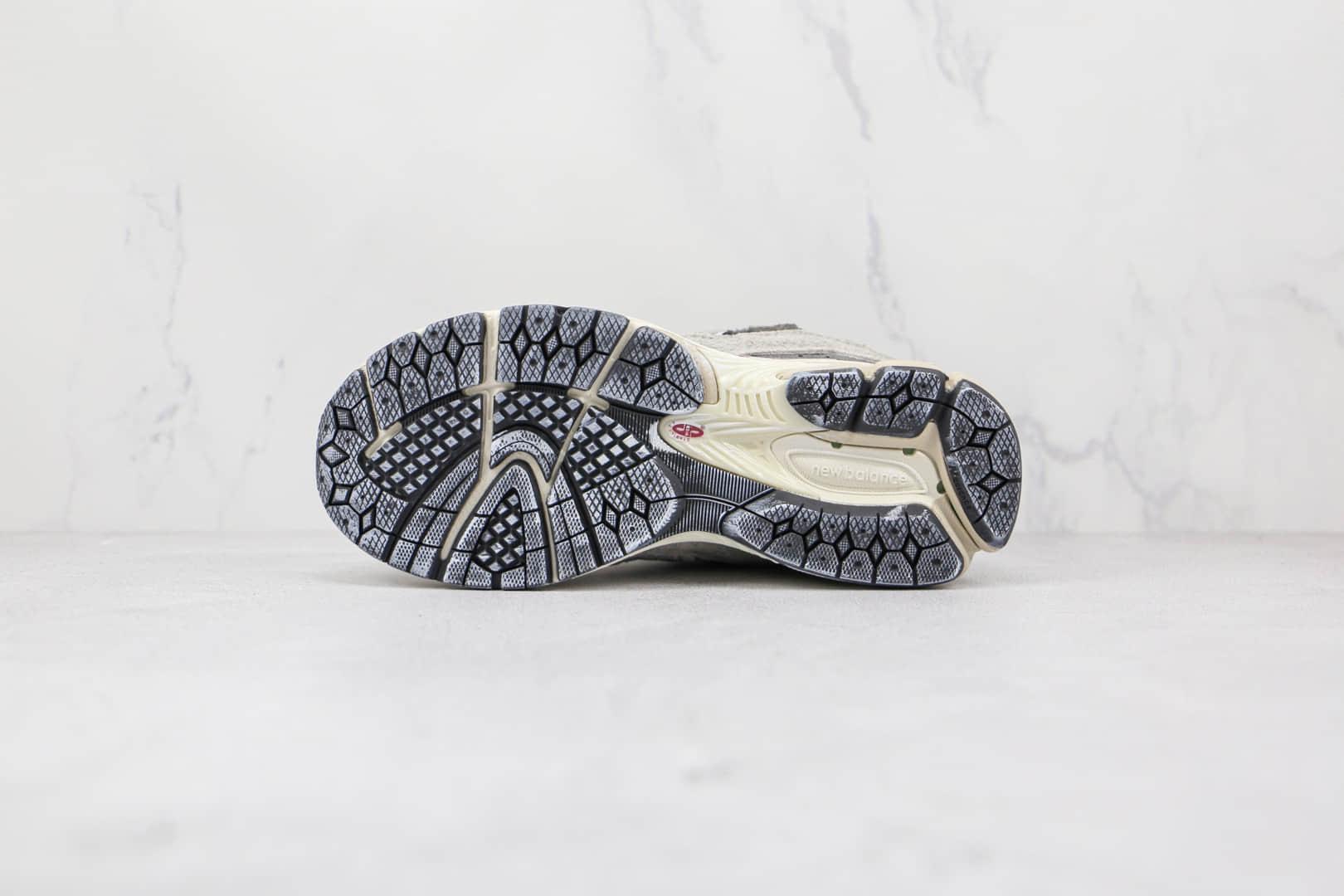 新百伦New Balance 2002R Protection Pack纯原版本灰色不规则剪裁解构NB2002复古慢跑鞋原档案数据开发 货号:M2002RDA