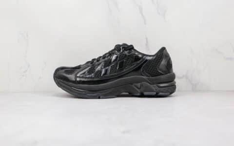 亚瑟士ASICS KIKO KOSTADINOV ASI GEL-KIRIL联名款纯原版本黑色格子运动跑鞋原盒原标