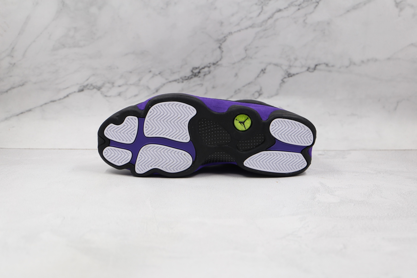 乔丹Air Jordan AJ13 Retro纯原版本黑紫色aj13篮球鞋原档案数据开发 货号:DJ5982-015