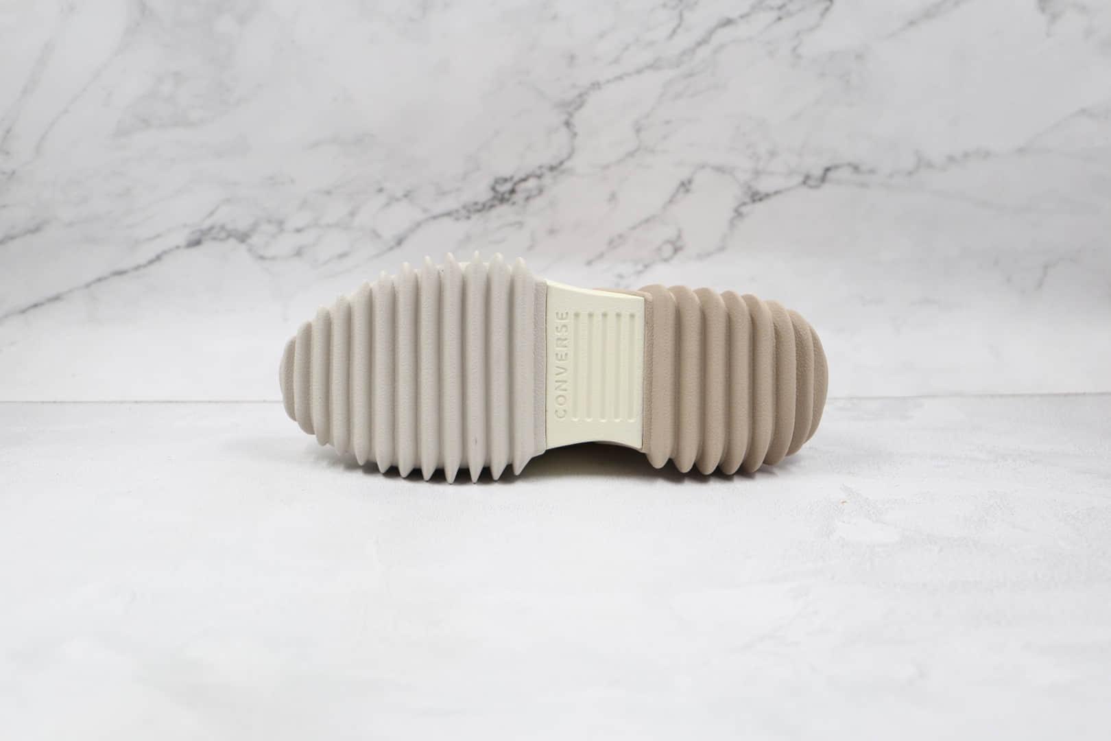 匡威CONVERSE Run Star Motion纯原版本未来电波厚底硫化帆布松糕鞋原鞋开模一比一打造