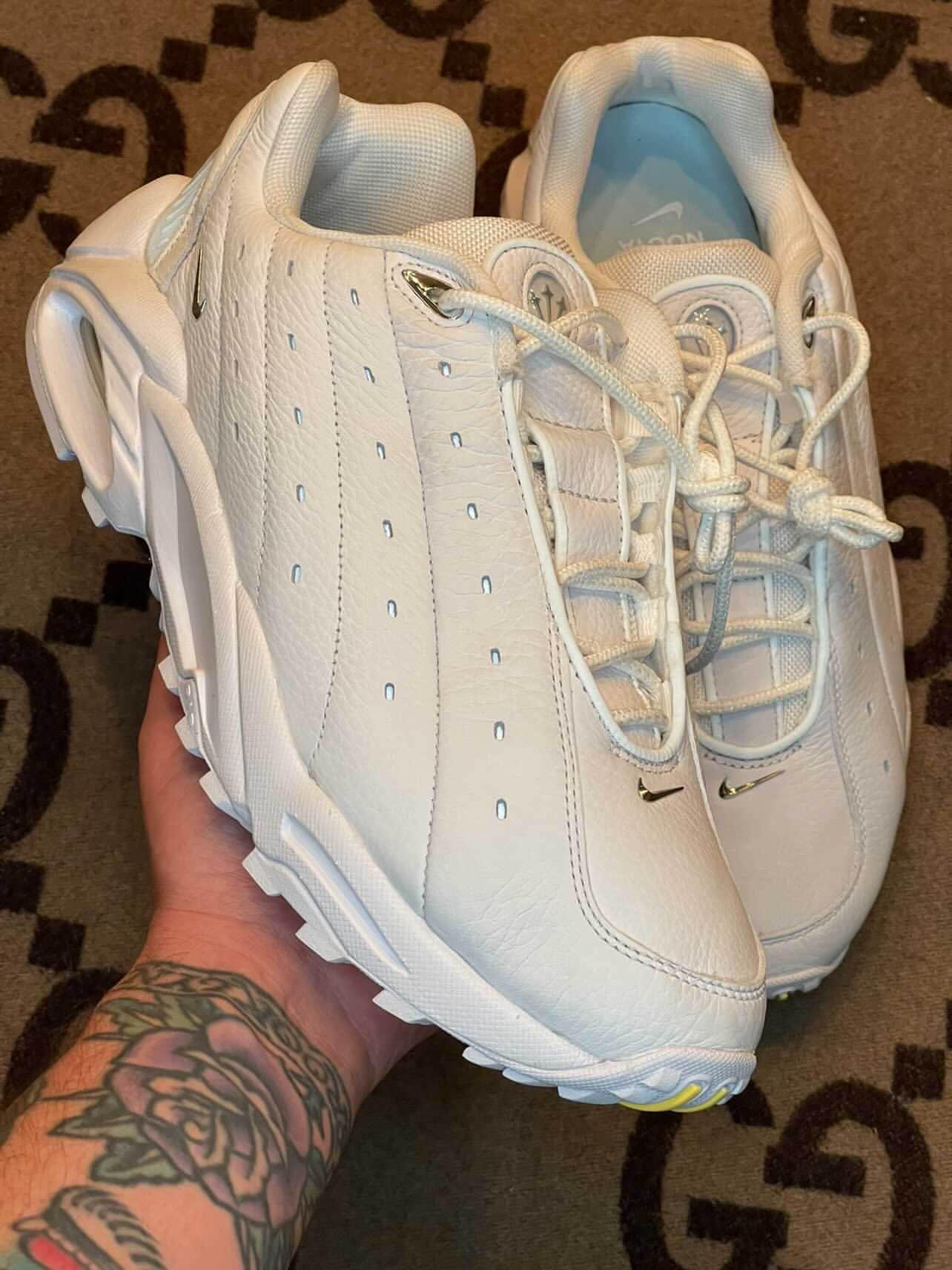 NOCTA x Nike Hot Step Air Terra实物曝光!这双小白鞋可以冲! 货号:DH4692-100