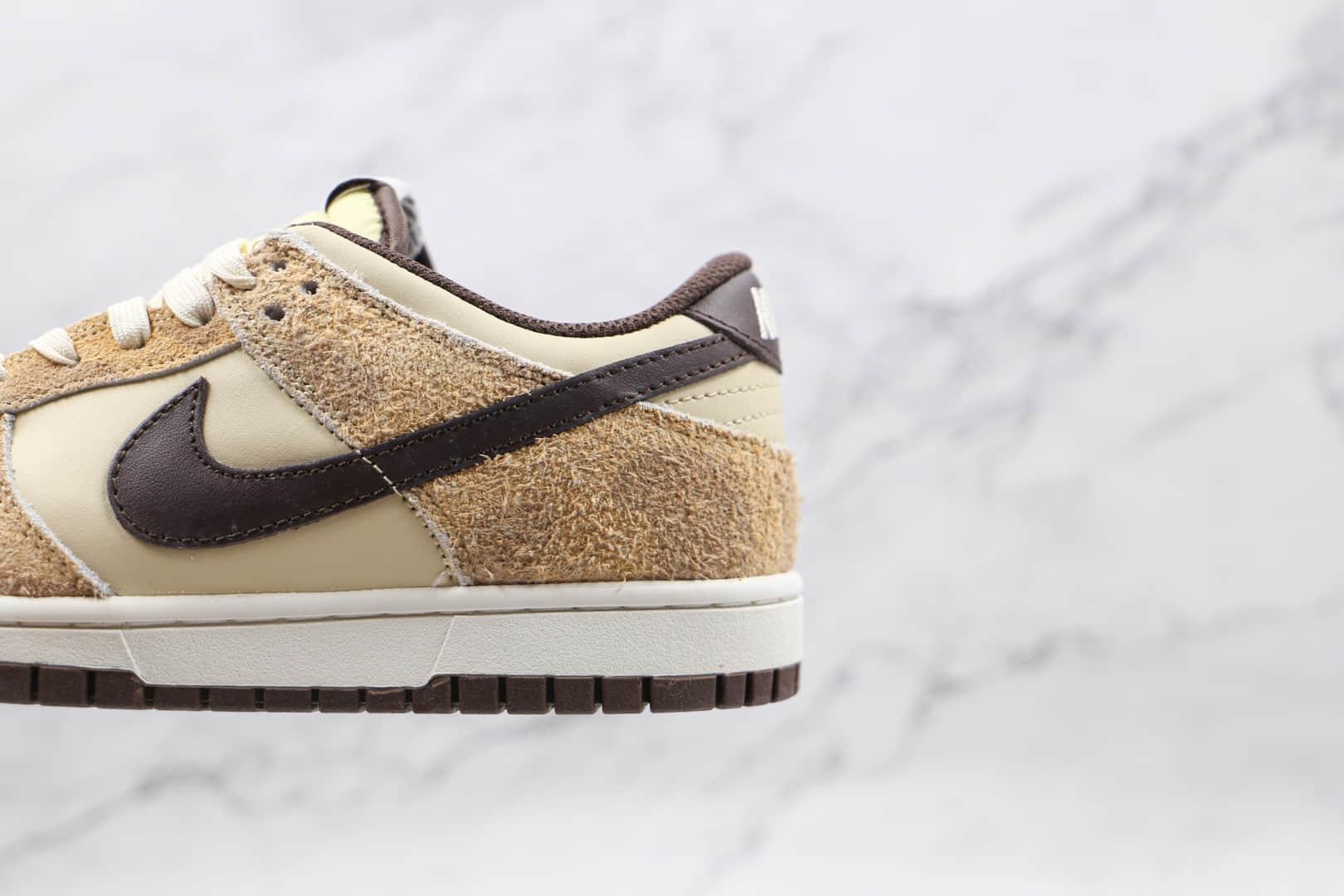 耐克Nike Dunk Low Retro PRM Cheetah纯原版本低帮DUNK米白棕猎豹动物印花板鞋原盒原标 货号:DH7913-200
