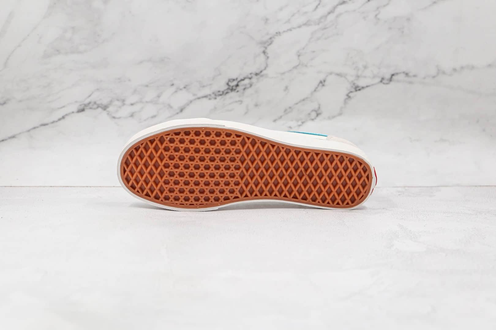 万斯Vans Style 36公司级版本半月包头低帮板鞋灰白蓝原厂DT钢印  货号:VNOS32J6JA