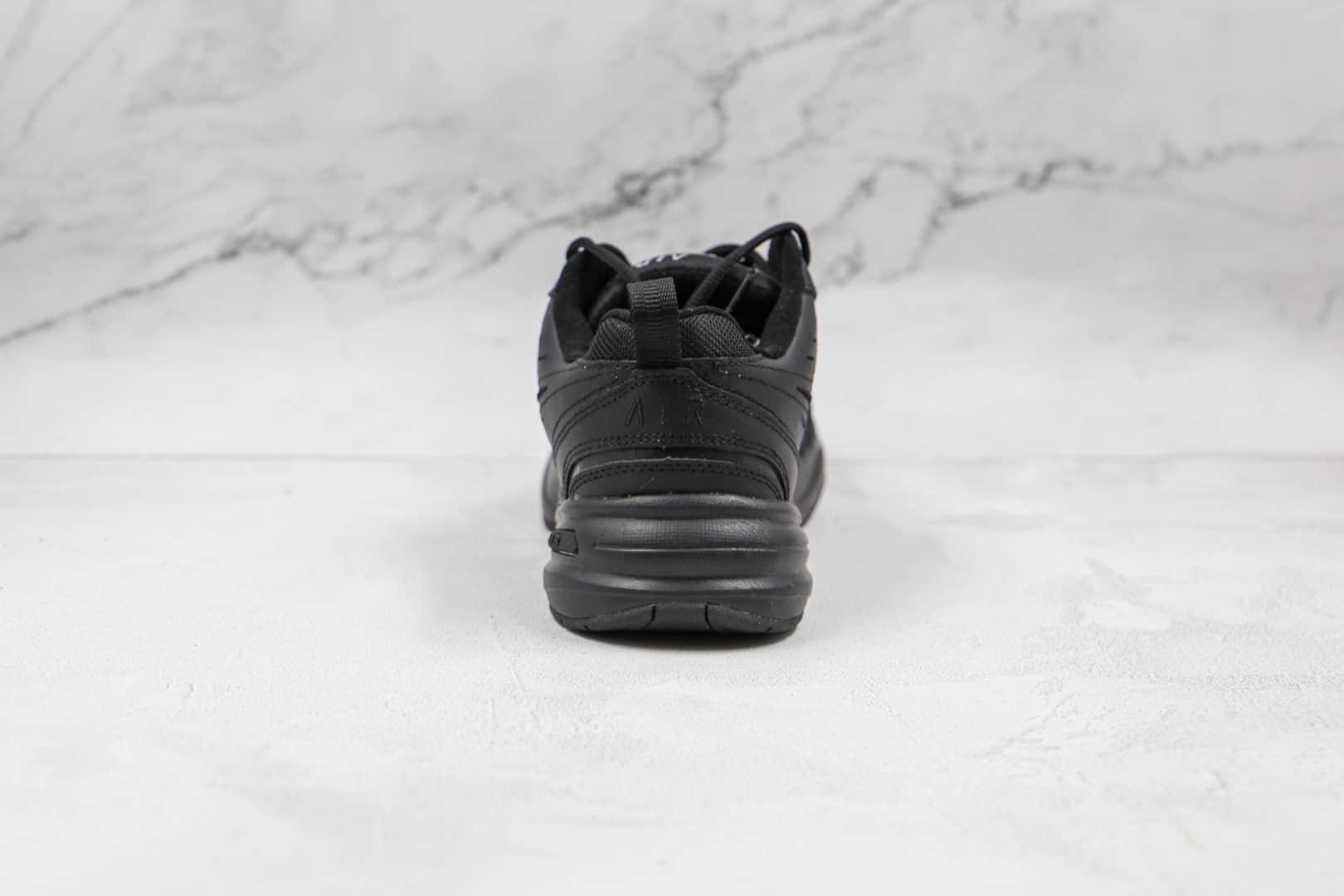 耐克Nike Air Monarch M2K纯原版本复古M2k纯黑色老爹鞋原盒原标 货号:415445-001