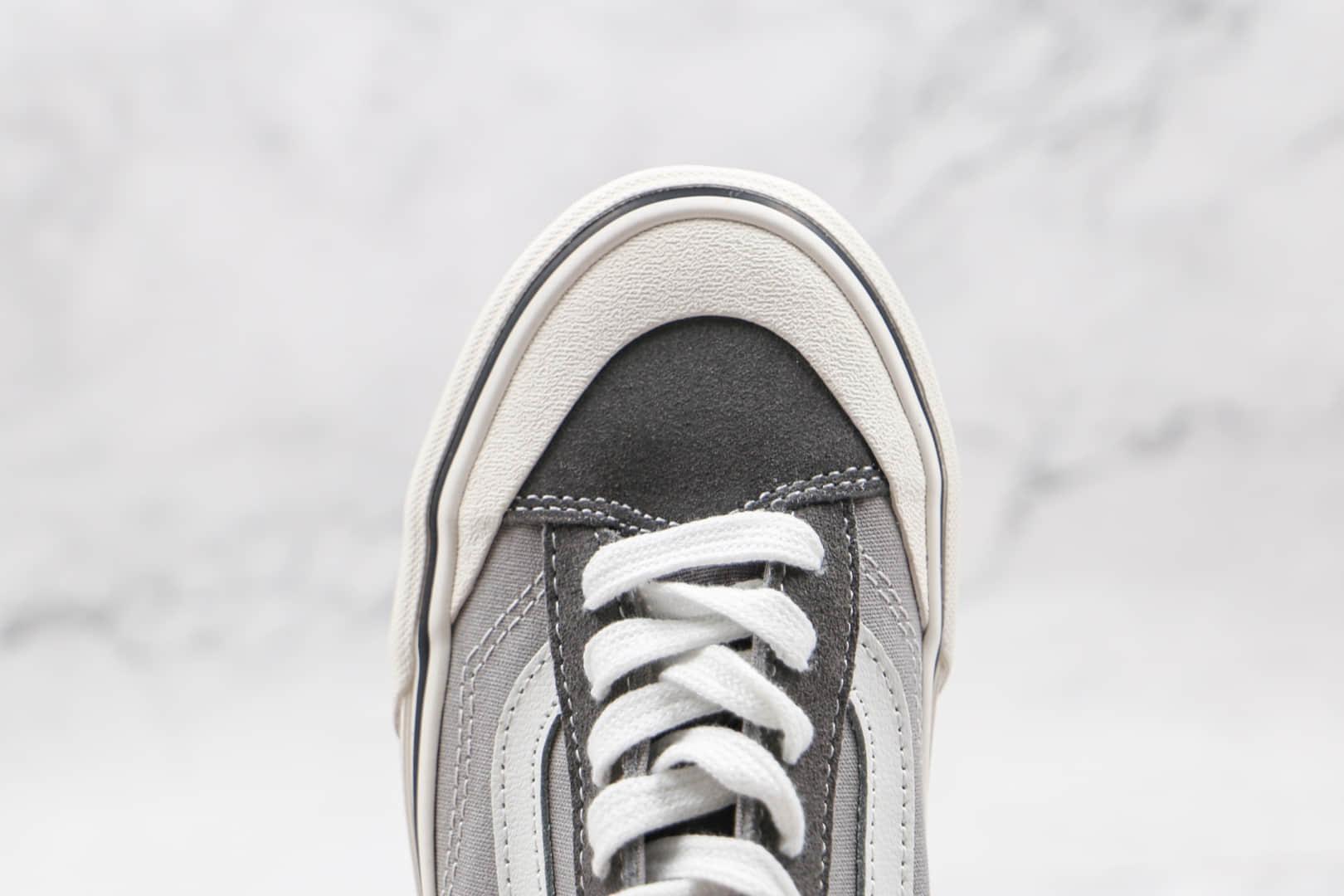 万斯Vans Style 36 Decon SF公司级版本低帮半月包头杀人鲸酷灰奶奶灰棋盘格硫化板鞋原盒原标 货号:VN0A3MVL195