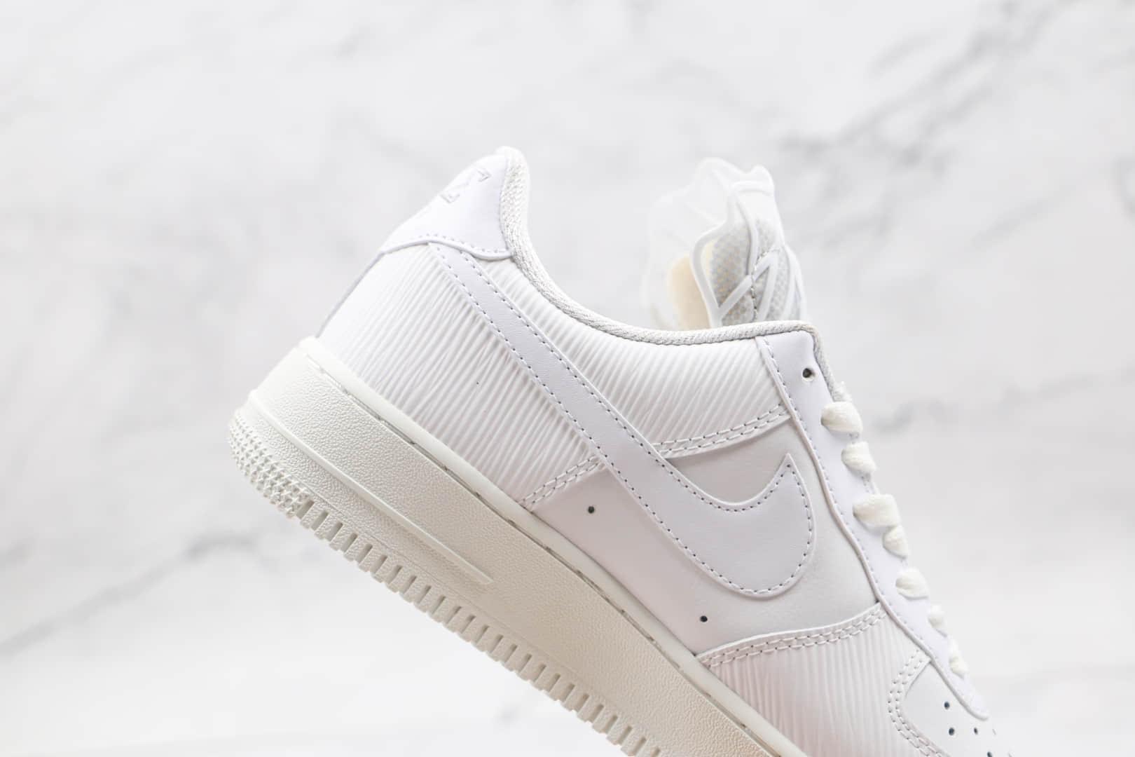 耐克Nike Air Force 1 Low Goddess of Victory纯原版本低帮空军一号白色网纱胜利女神板鞋内置气垫 货号:DM9461-100