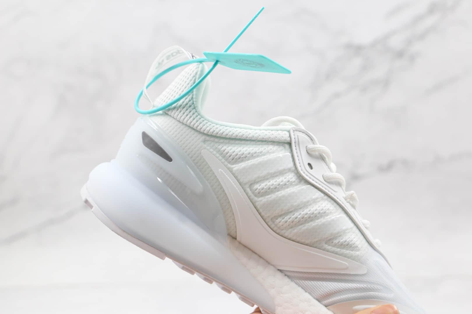 阿迪达斯Adidas Originals ZX 2K Boost 2.0纯原版本纯白ZX 2K爆米花跑鞋原楦头纸板打造 货号:GZ7741