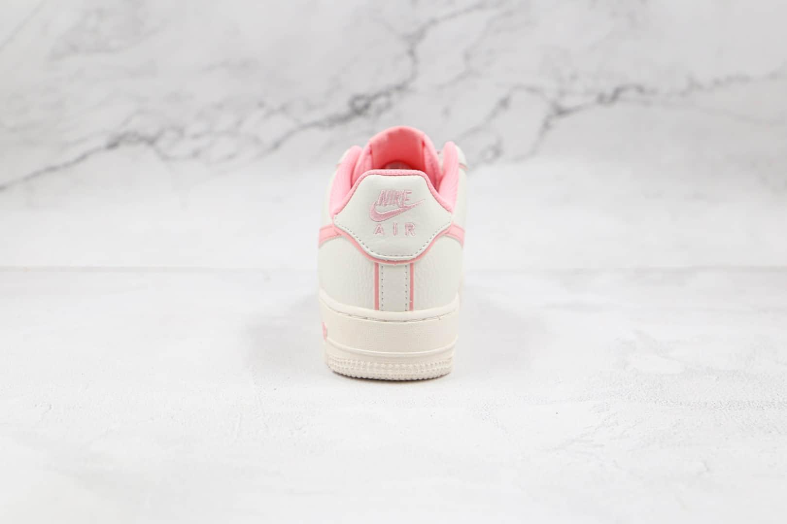 耐克Nike Air Force 1 Low '07纯原版本低帮空军一号白粉色板鞋内置气垫 货号:UH8958-033