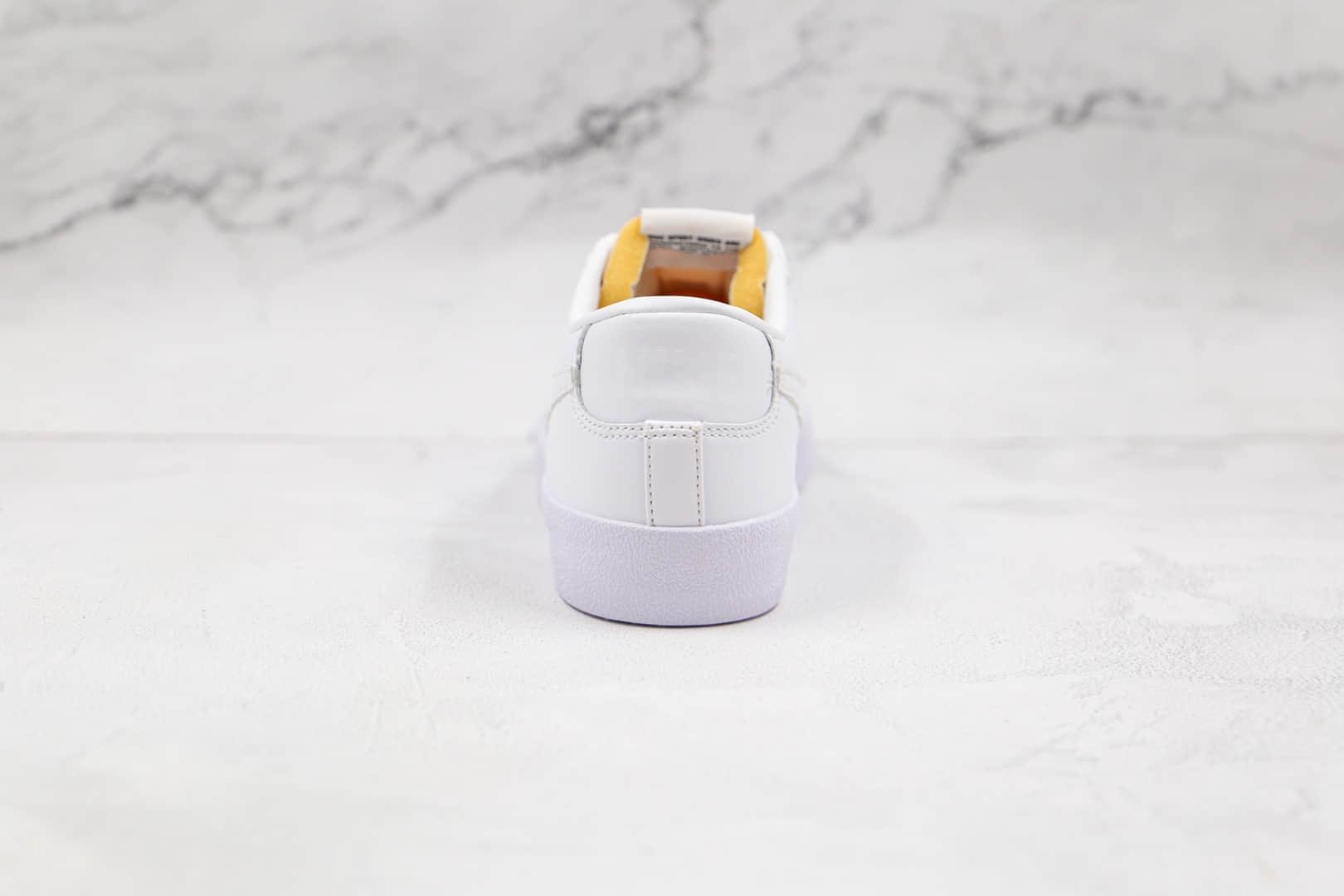 耐克NIKE Blazer LOW 77 VNTG公司级版本低帮开拓者纯白色板鞋原盒原标 货号:DC4769-101