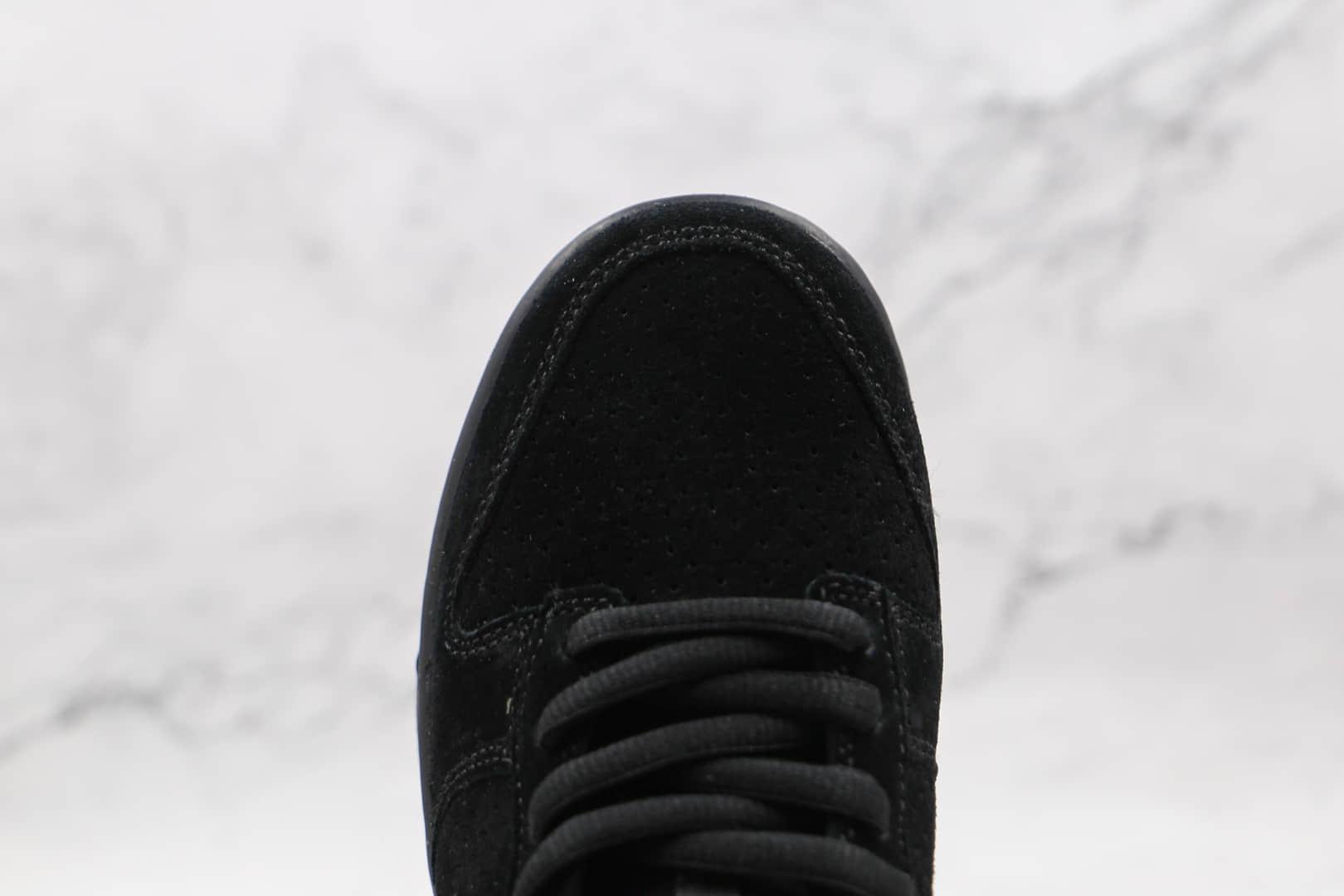 耐克NiKe Dunk Low Sp x UNDFTD联名款纯原版本低帮DUNK纯黑色板鞋原鞋开模一比一打造 货号:DO9329-001