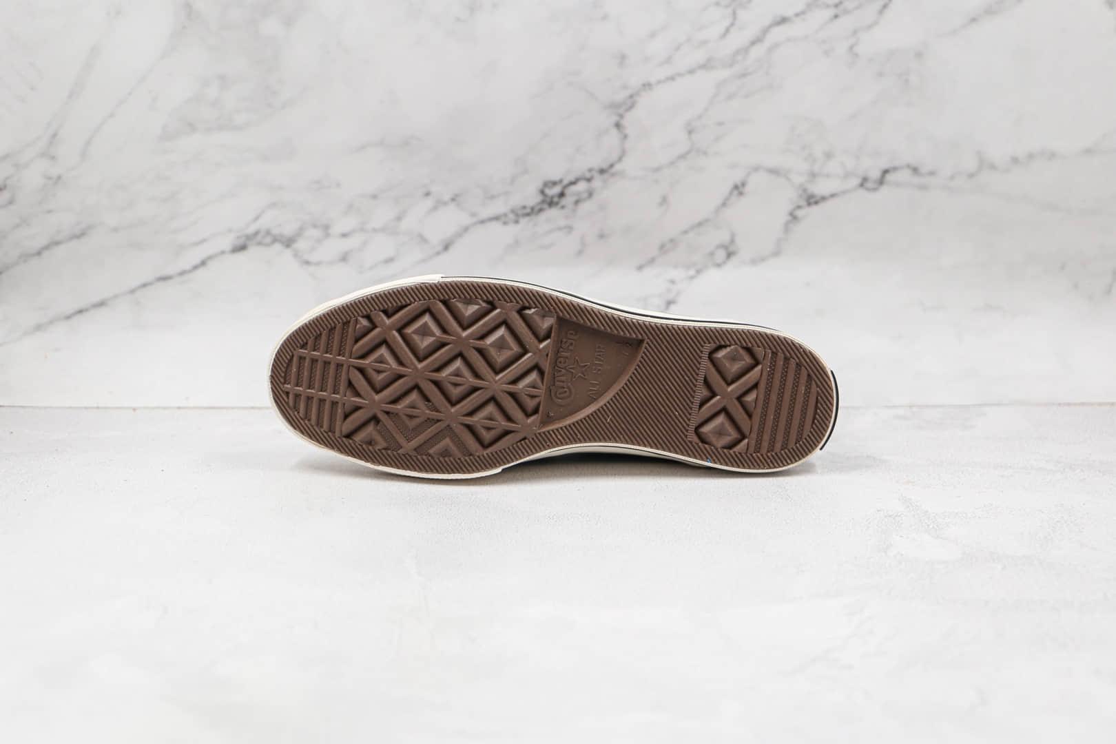 匡威Converse 1970s GORE-TEX公司级版本高帮灰色车线硫化帆布鞋原档案数据开发