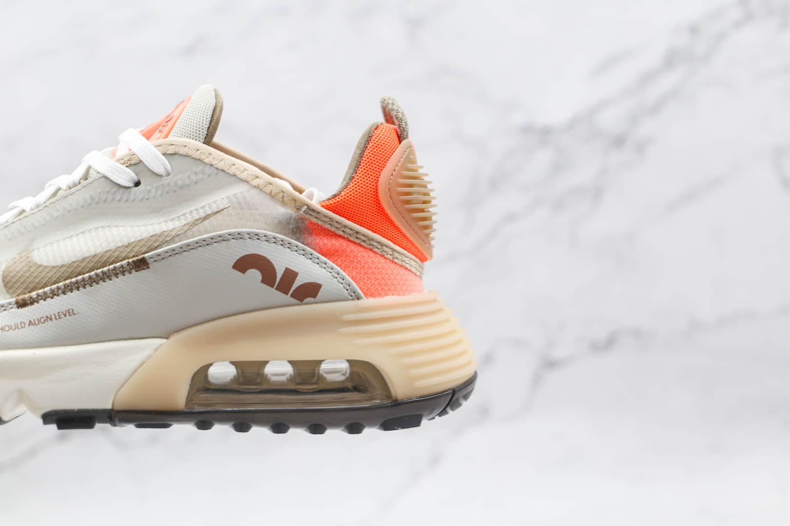耐克Nike Air Max 2090纯原版本网面米粉色Max2090气垫鞋原楦头纸板打造 货号:DN4233-021