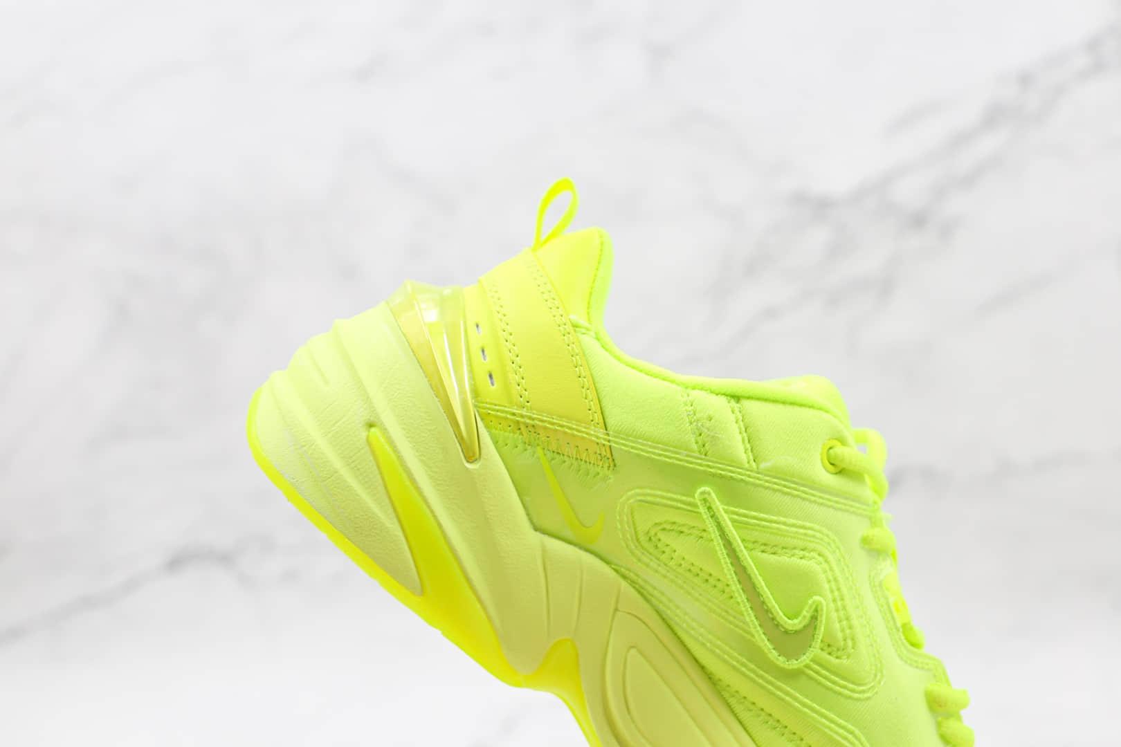 耐克Nike Air Monarch M2K纯原版本复古老爹鞋M2K荧光绿慢跑鞋原盒原标 货号:CI5749-777