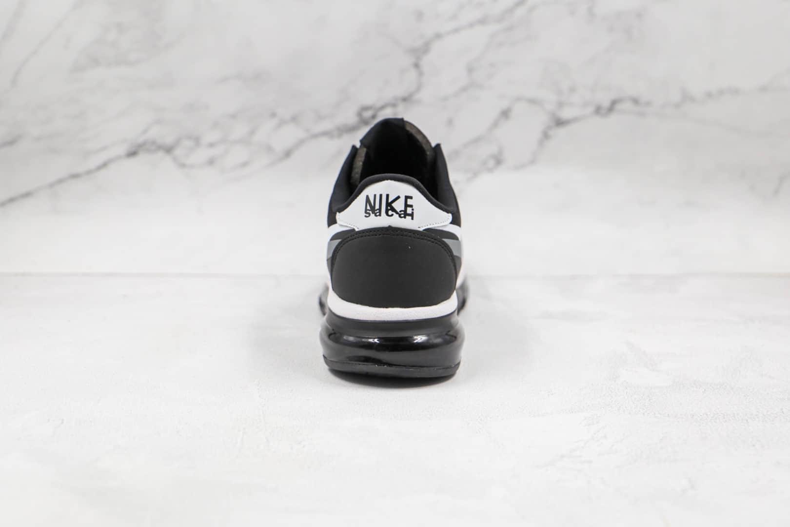 耐克Nike Air Max 2015纯原版本黑白色双钩全掌气垫鞋原档案数据开发 货号:CN0135-002