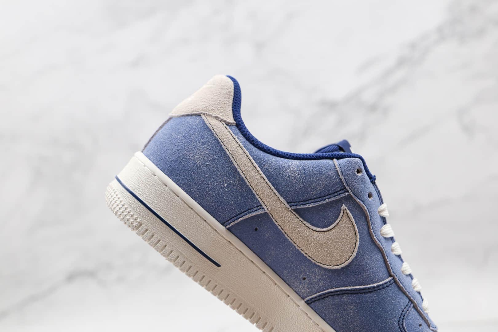 耐克Nike Air Force 1 Low纯原版本低帮空军一号水洗天空蓝板鞋内置气垫 货号:DH0265-400