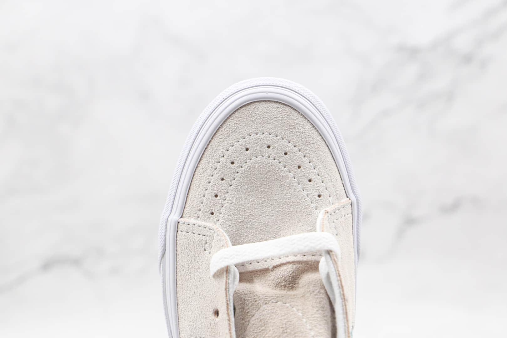 万斯Vans SK8 -Hi公司级版本高帮白蓝色秋季硫化帆布鞋原厂硫化大底 货号:VN0A32QG9LY