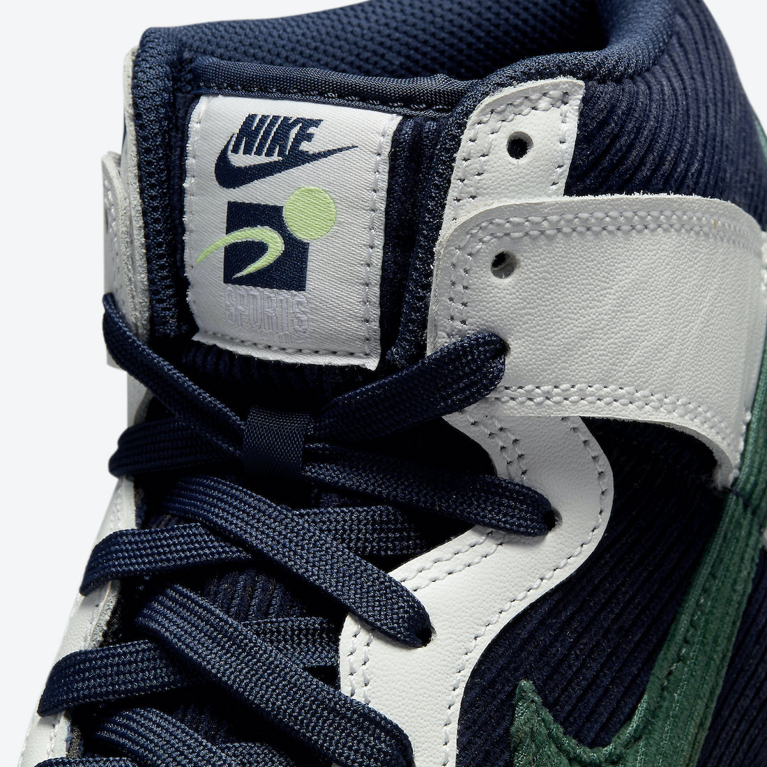 规格不低!全新Nike Dunk High首度曝光! 货号:DH0953-400