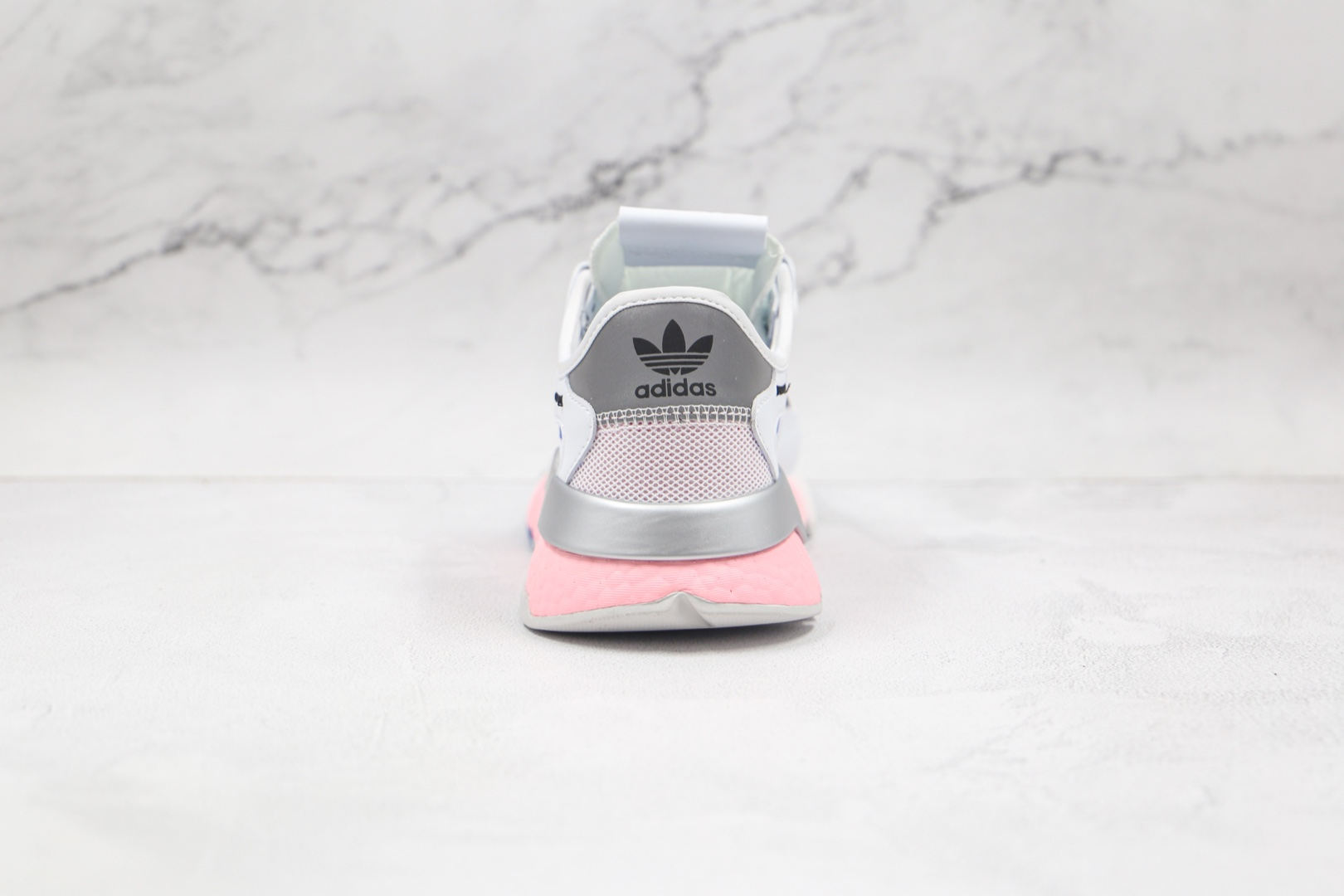 阿迪达斯Adidas Nite Jogger 2019 Boost纯原版本夜行者一代白灰蓝粉色爆米花跑鞋原楦头纸板打造 货号:FY5748