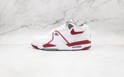 耐克Nike Air Flight 89纯原版本星际篮球鞋主题白红色复古篮球鞋原楦头纸板打造 货号:DD1173-100