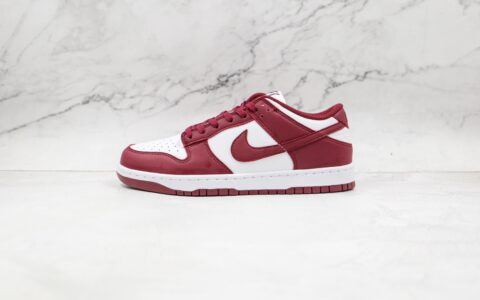 耐克Nike Dunk Low纯原版本低帮DUNK白红色板鞋原档案数据开发 货号:DD1503-108