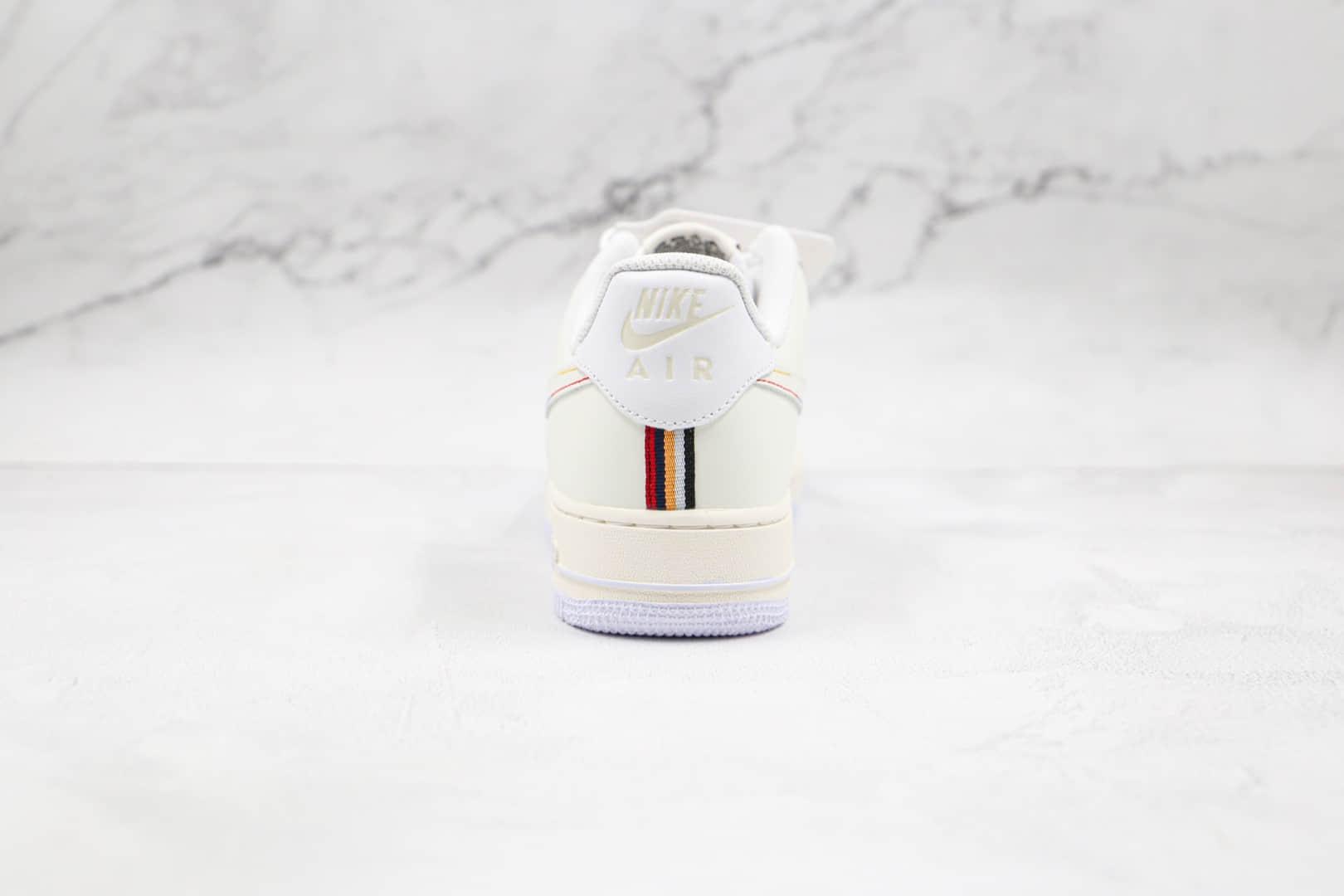 耐克Nike Air Force 1 Low纯原版本低帮空军一号白色字母印花韩文印花刺绣板鞋内置气垫 货号:DC9556-300