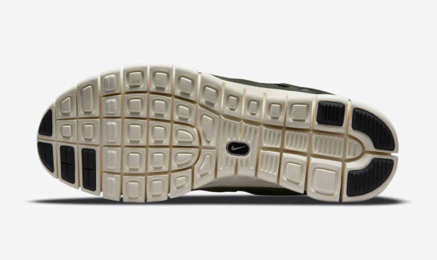 硬朗军事风!全新Nike Free Run 2军绿色即将登场! 货号:537732-305