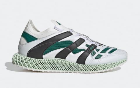 阿迪达斯4D新鞋型曝光!现已发售! 货号:GX0223