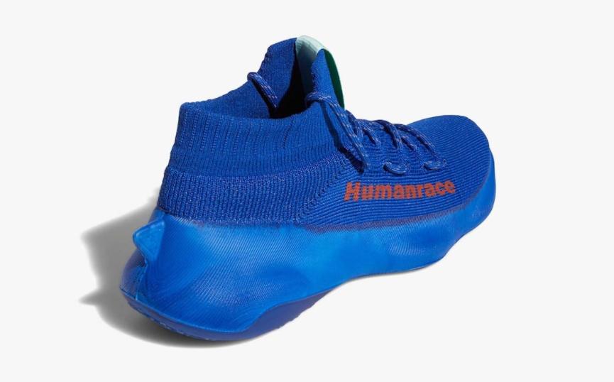 一体式袜套鞋!菲董 x adidas Humanrace Sichona宝蓝色官图释出! 货号:GW4880