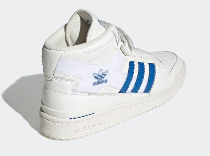 魔术贴贴布!复古篮球鞋adidas Forum新设计来袭! 货号:GX1021