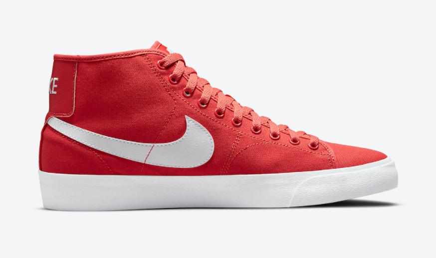 黑白or红白?两款全新配色Nike SB Blazer Court Mid即将登场!