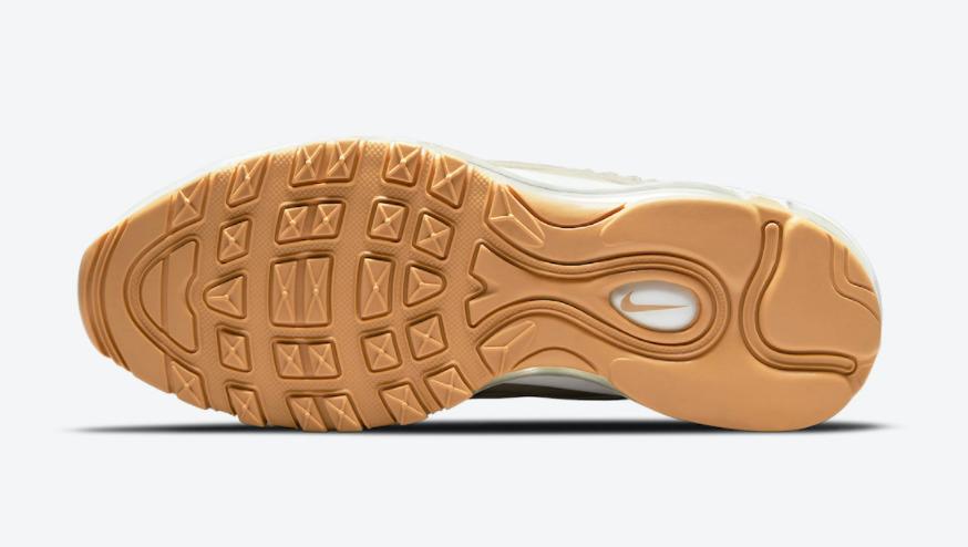 奶油鞋身+编织细节!这双Air Max 97也太好看了! 货号:DC4144-200