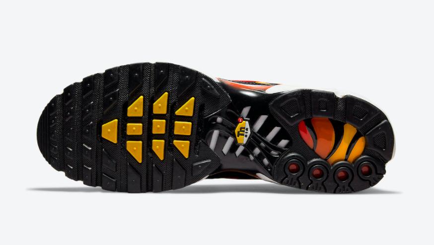 日落配色!复古跑鞋Nike Air Max Plus新配色曝光! 货号:DC6094-001