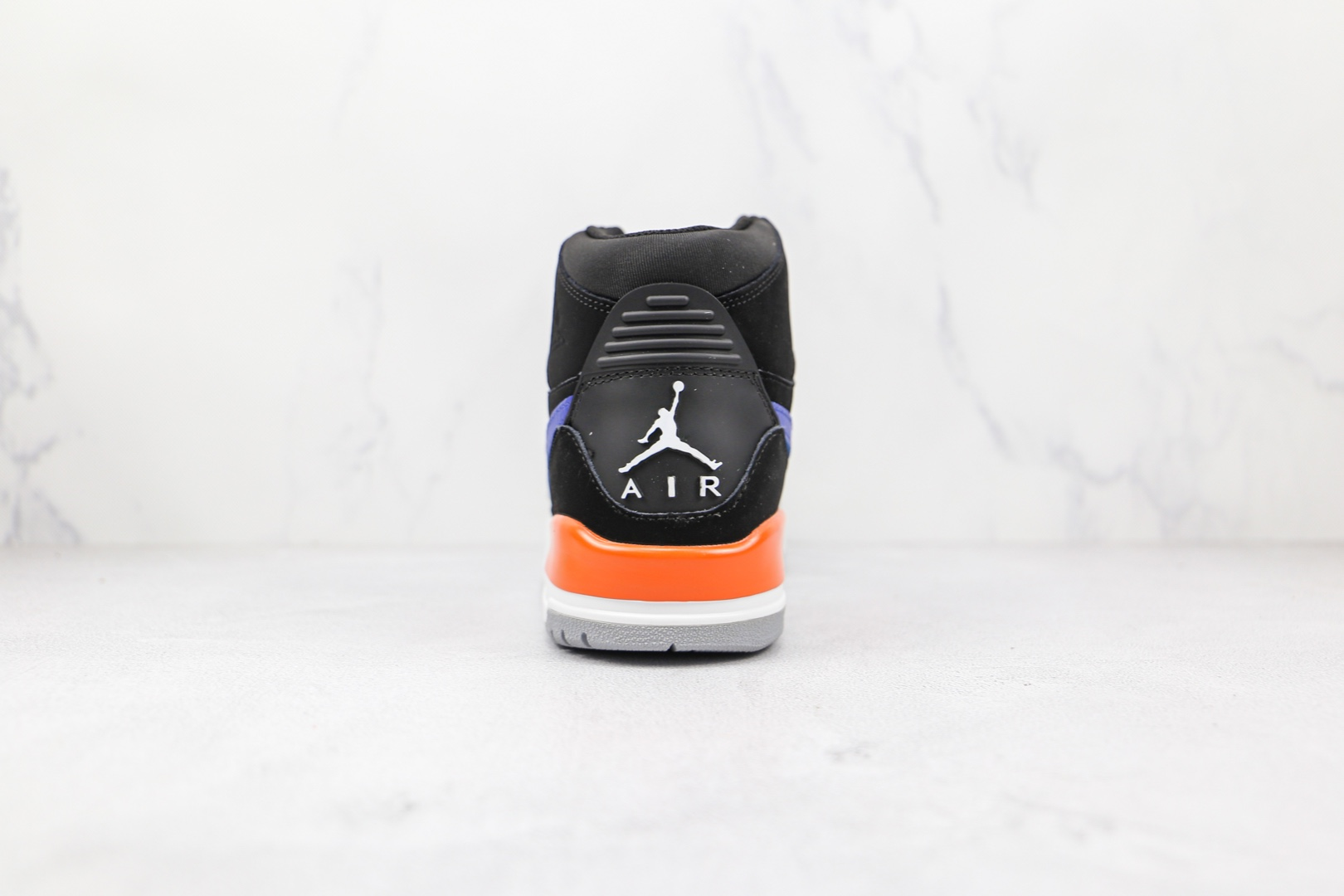 乔丹Air Jordan Legacy 312纯原版本高帮AJ312黑蓝色板鞋原档案数据开发 货号:AV3922-048