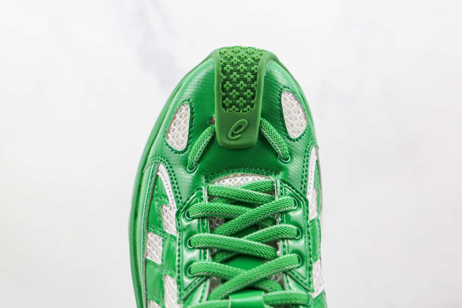 亚瑟士ASICS KIKO KOSTADINOV ASI GEL-KIRIL联名款纯原版本白绿格子运动跑鞋原盒原标